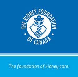 Kidney Foundation of Canada Windsor & District Chapter Logo