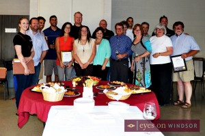 Lake Erie North Shore Wine Makers Group Photo