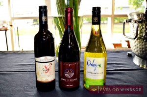 Oxley Estate Winery 2013 Chardonnay, North 42 Degrees Estate Winery 2012 Pinot Noir, and  Mastronardi Estate Winery 2010 Syrah win awards at Shores of Erie International Wine festival 2014 Awards presentation.