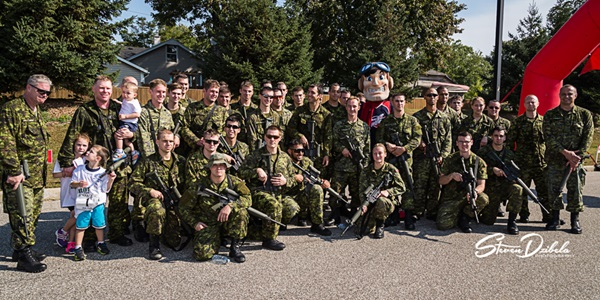 4th Annual Trot With The Troops in Windsor | Photo Gallery