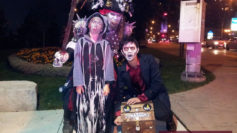 Windsor Zombie Walk 2014 Resurrected by Zombie Pirate & Undead Crew