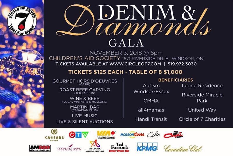 Denim and Diamonds Gala Poster
