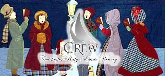 CREW Winery Christmas Carols