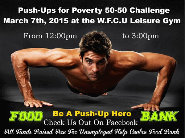 Push Ups For Poverty