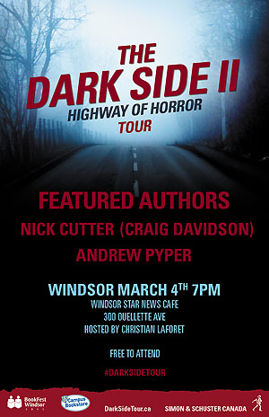 The Dark Side II Highway of Horror Tour Windsor poster