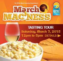 March Mac'Ness at Epic Wineries