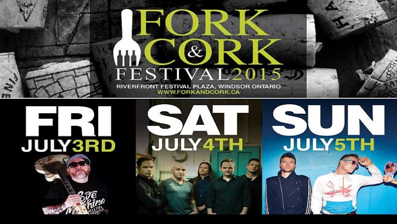 Windsor Fork and Cork Festival Serves Extra Big Headliner Bands For 2015