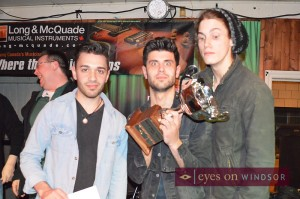 Justin Zucatto Band Windsor Rock For Dimes 2014 Winners