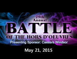 Battle of The Hors D'oeuvres 2015