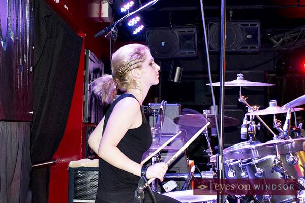 Siera Simoni Drummer for SieraSlave