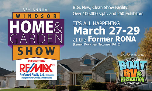 Windsor Home Garden Show 2015