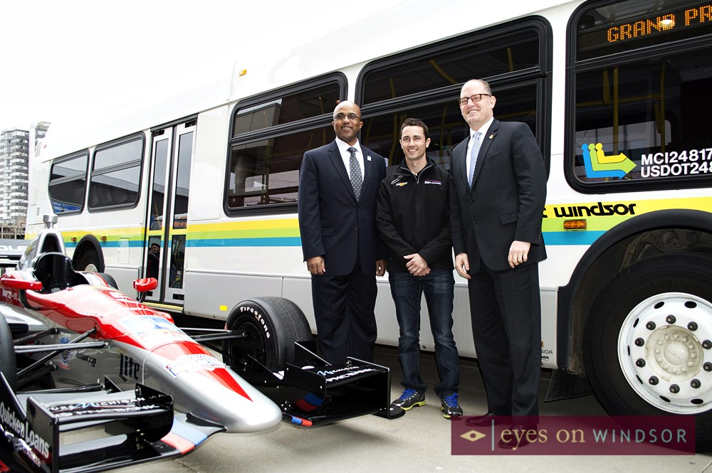 Mayor Dilkens, Detroit Grand Prix Indy Car