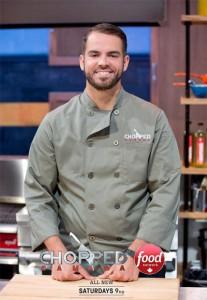 Windsor Chef Benjamin Leblanc on Food Network Canada's Hit T.V. Show Chopped Canada/