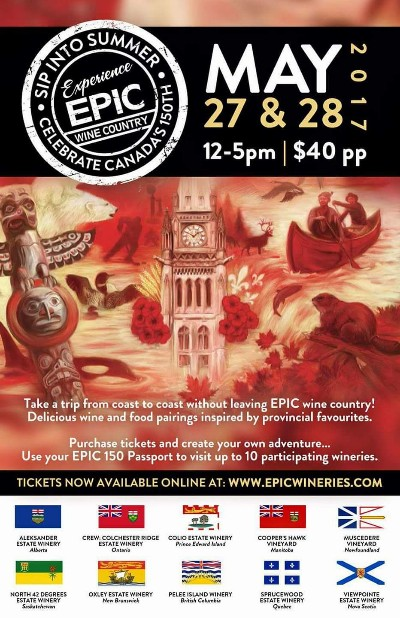 EPIC Wineries Sip Into Summer poster