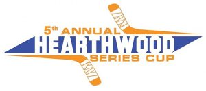 Hearthwood Series Cup Street Hockey Tournament Windsor, Ontario (Banner)