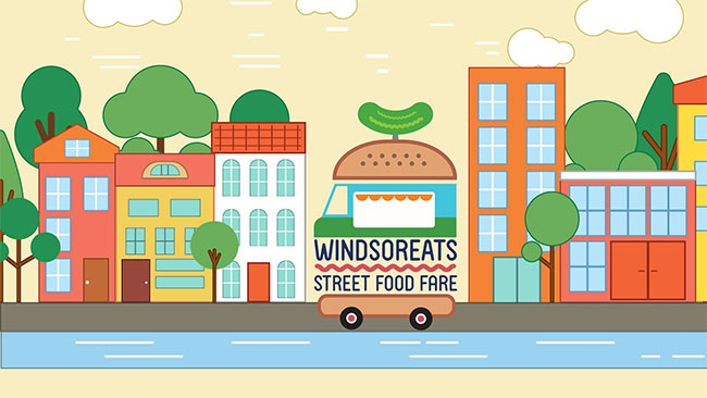 Windsor Eats Street Food Fare Logo