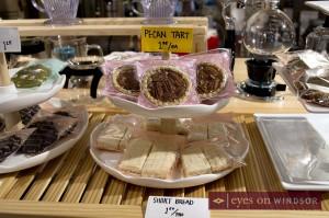 Pecan tarts at Leaf N' Bean Cafe