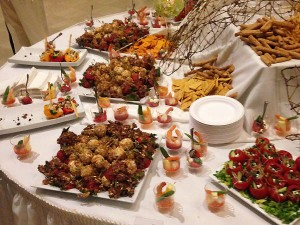 Local food served at Sante 2015.