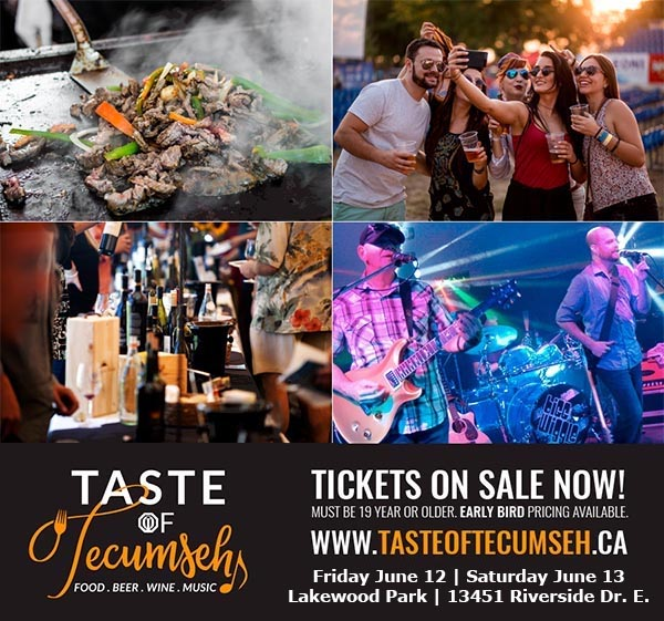 Taste of Tecumseh Festival Poster