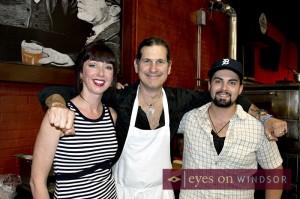 Walkerville Tavern with Tara Watts serving food at Bites N Beers.