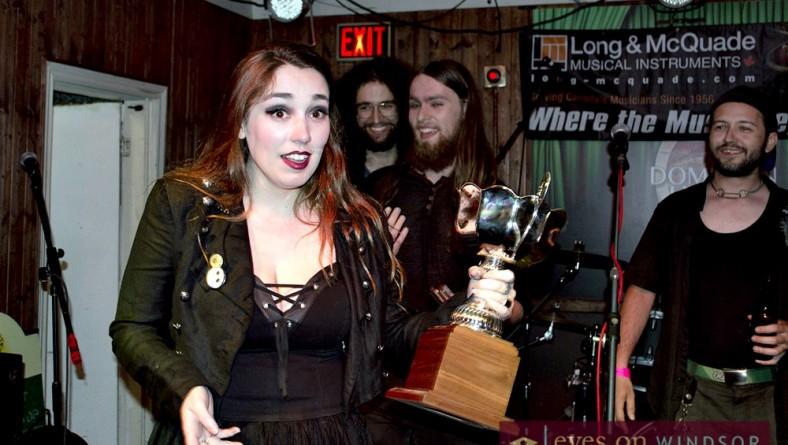 Rock For Dimes Winner Atmora Takes Windsor's Fork & Cork Festival 2015 Stage Saturday