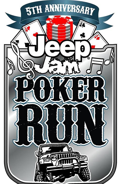 Jeep Jam Poker Run Logo