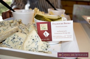 Celtic Blue Cheese being served by Dalhousie Bistro