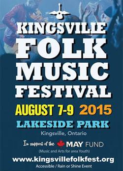 Kingsville Folk Music Festival 2015