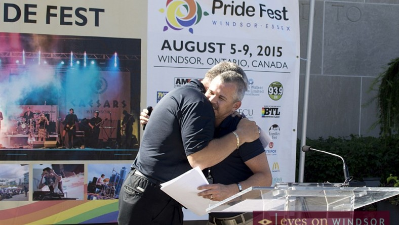 Pride Flag Raising Ceremony Kicks Off Windsor-Essex Pride Festival 2015