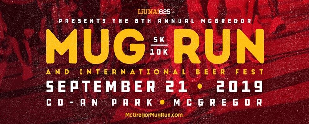 McGregor Mug Run and International Beer Festival