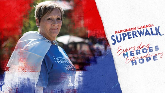 Parkinson Superwalk Windsor Essex Banner