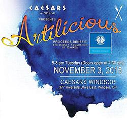 Artilicous Windsor 2015 Local Food & Art Festival