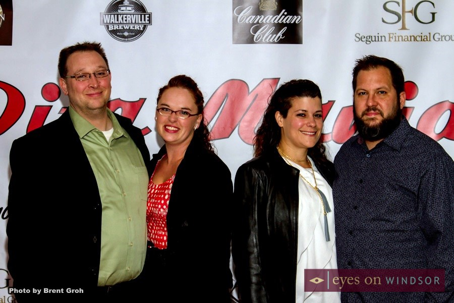 Chris Mickel and Kristian McNeill operators of the Dominion House Tavern at Cooked Series red carpet premiere.