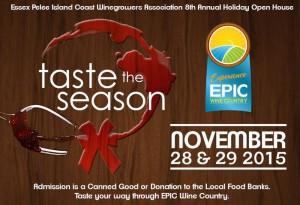 EPIC Wineries Taste The Season 2015