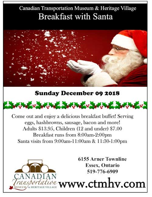Breakfast With Santa CTMHV Poster