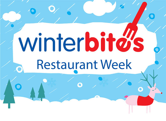 Winter Bites Restaurant Week logo
