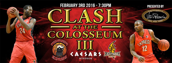Clash at the Colosseum 3 Windsor Express vs London Lightning