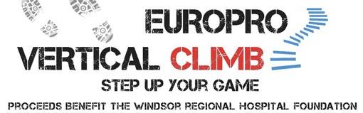 Europro Vertical Climb Banner