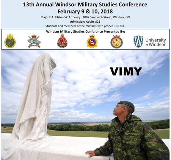 Windsor Military Studies Conference Poster