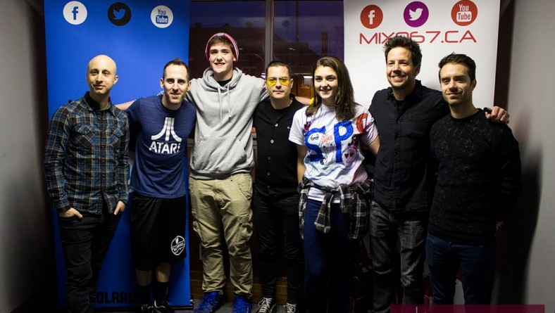 Simple Plan Rock World Tour Charity Kick Off Concert Raising $14K For T2B