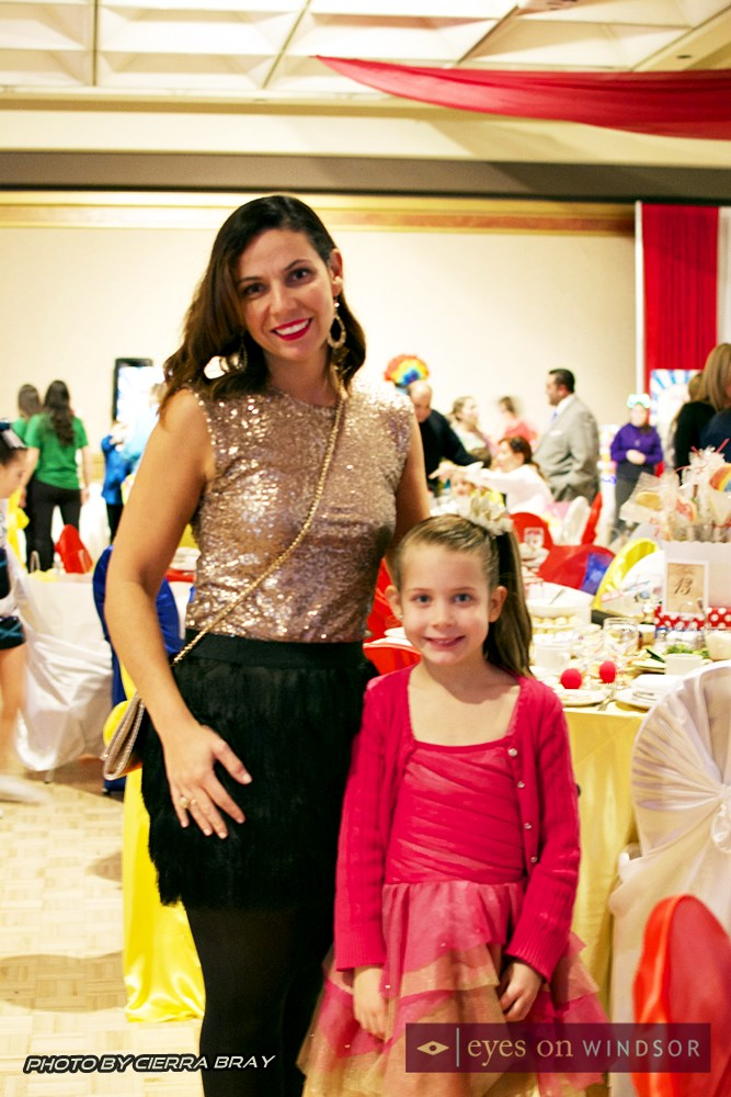 Paula Segan with daughter.
