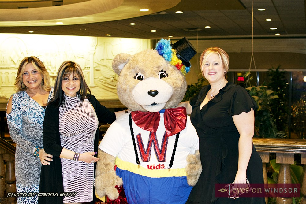 WE Care For Kids Foundation Mascot Bear