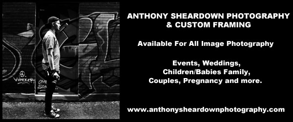 Anthony Sheardown Photography banner