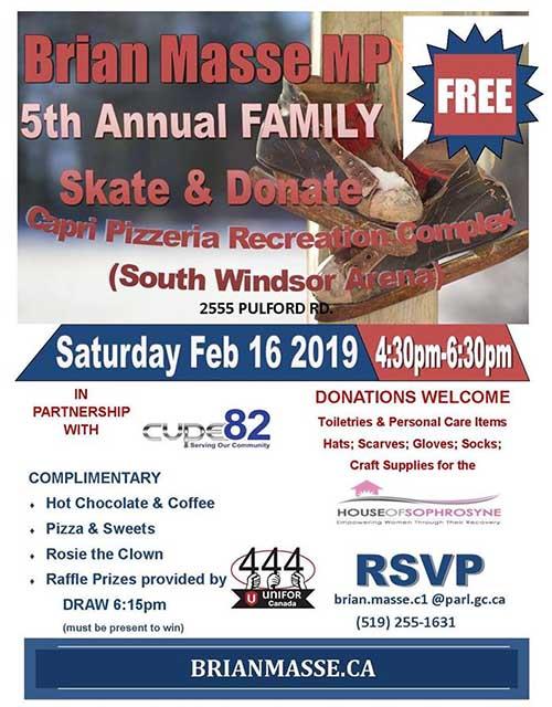 Brian Masse Annua Family Skate