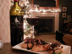 Crew Winery Food & Wine Pairing by Essex County Wineries