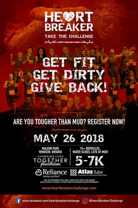 Heart Breaker Challenge Poster