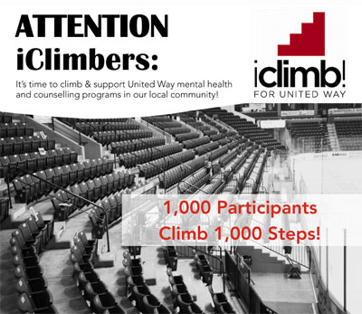 iClimb! for United Way Centraide Windsor Essex County