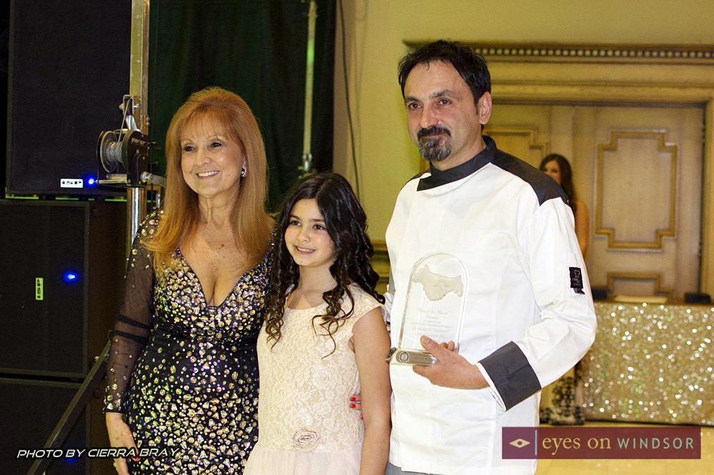 Mimmo Casagrande Bri receives Hand and Hand award from In Honour of The Ones We Love.