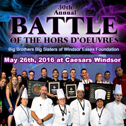 Battle of the Hors D'oeuvres 2016