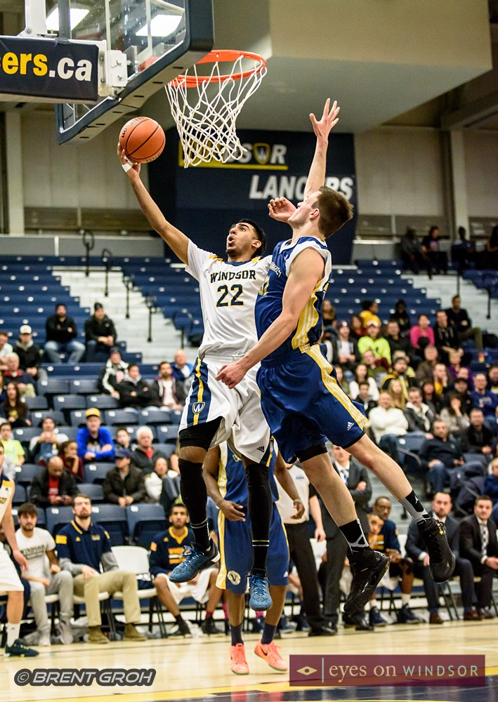 In Photos: Lancers Men's Basketball Make OUA Quarter Finals